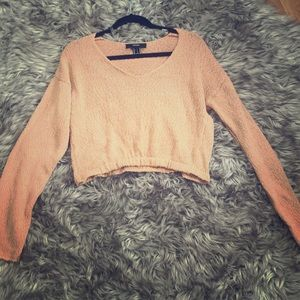 Knitted Orange Sweater
